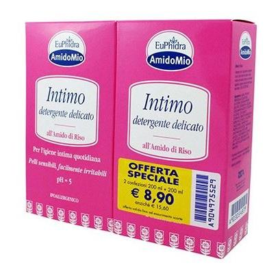 EUPHIDRA SCHIUMA INT 200+200ML