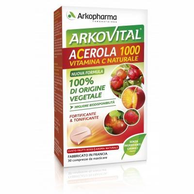 ARKOVITAL ACEROLA 30CPR MASTIC