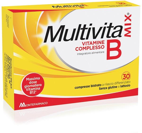 MULTIVITAMIX VIT B BISTR 30CPR