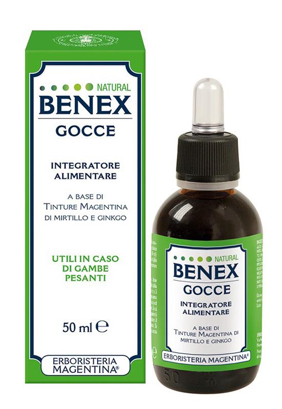 BENEX GOCCE NATURAL 50ML
