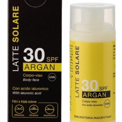 SOLARE ARGAN 30SPF 125ML LATTE